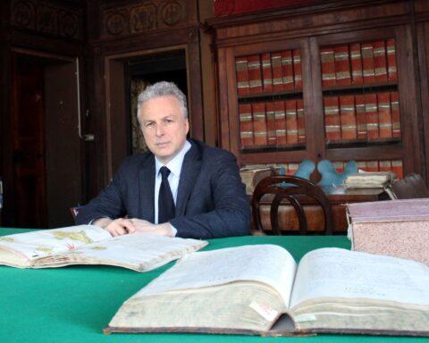 Giacomo di Thiene, Presidente Adsi, ritratto nell'archivio del Castello di Thiene Vicenza