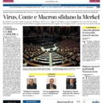 la Stampa prima pagina 26 marzo 2020