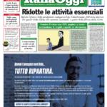 Italia Oggi prima pagina 26 marzo 2020