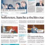 la Tribuna di Treviso prima pagina 26 marzo 2020