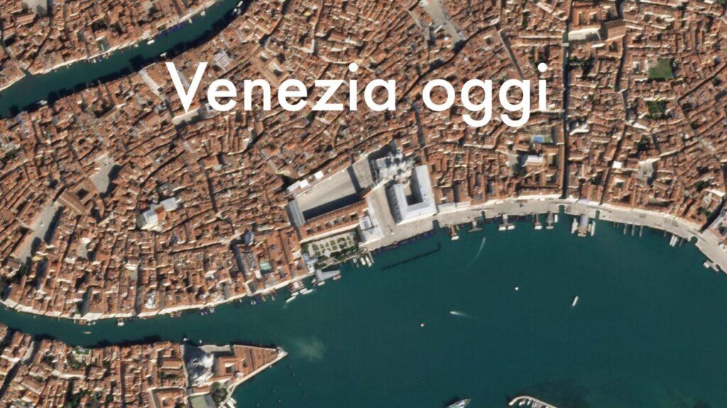 venezia dopo il lockdown per il coronavirus vista dalle foto di di Planet Lab