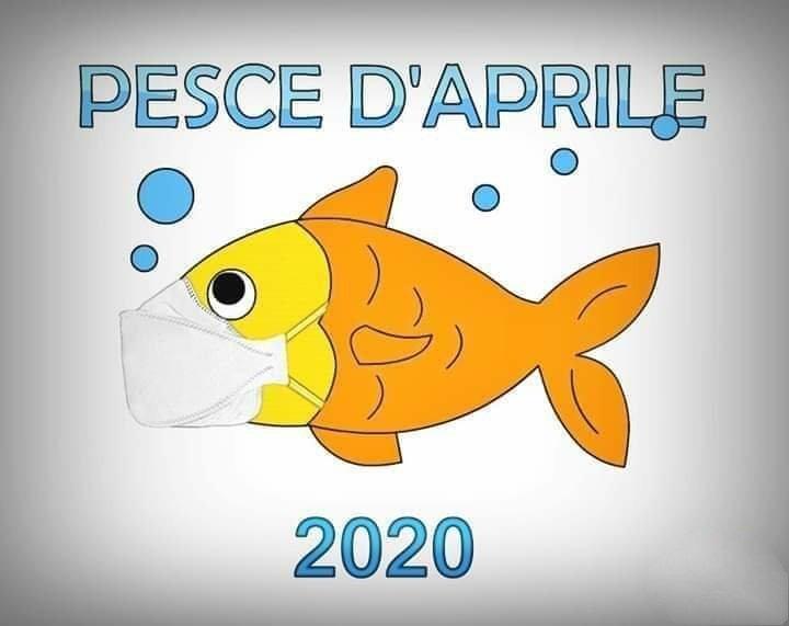 il PEsce d'Aprile 2020 ha la mascherina