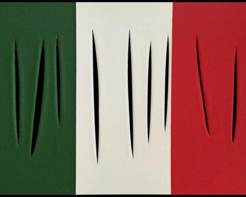 L'Arte della Domenica con Mr Savethewall Bandiera Italiana