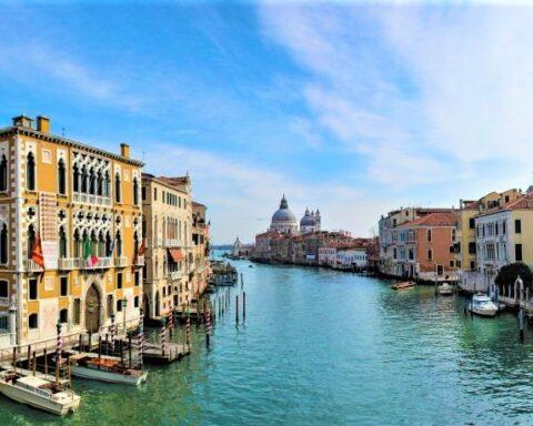 Venezia è deserta Canal Grande