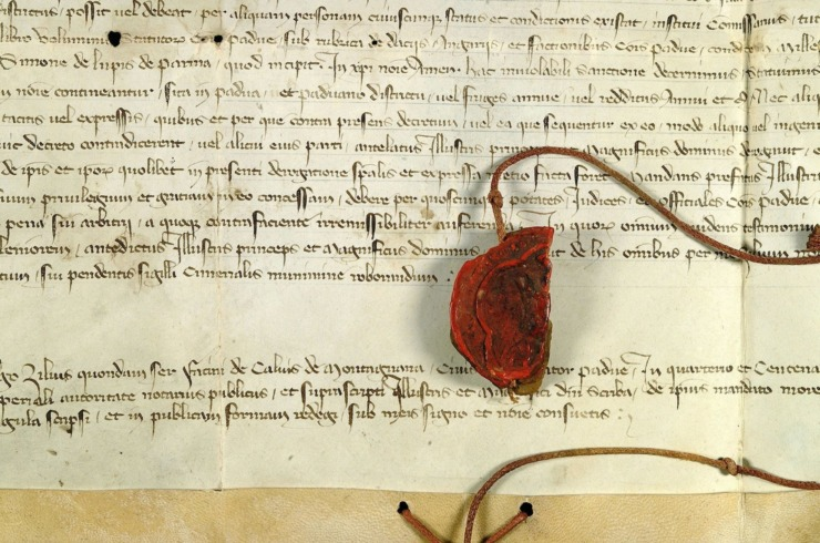 La Padova del '700 Documento Sigillo