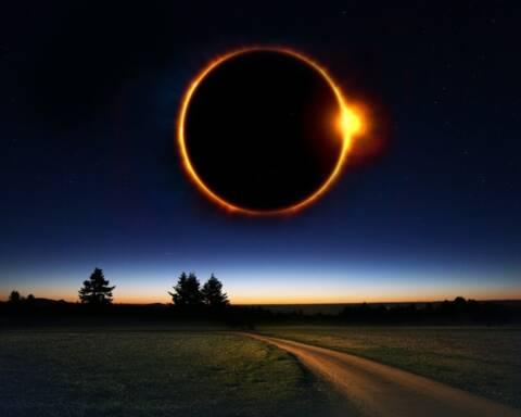eclissi anulare anello di fuoco maya