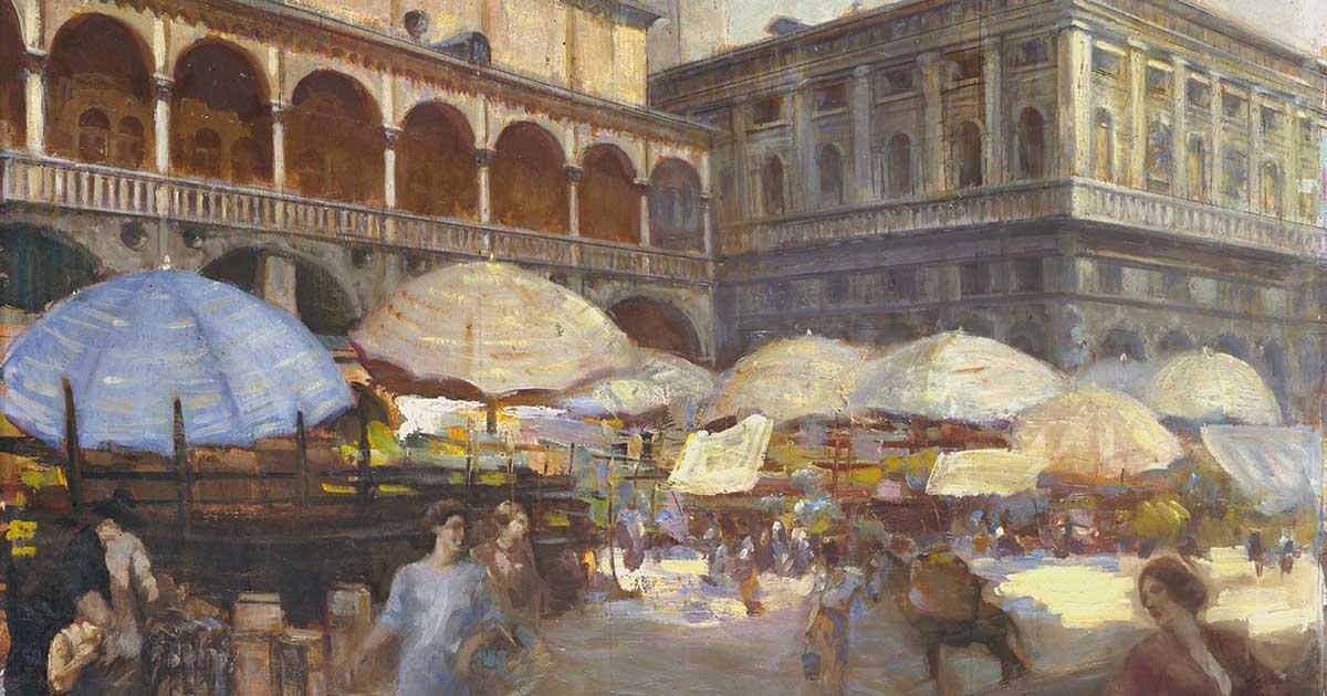 Giuliano Tommasi Piazza delle Erbe