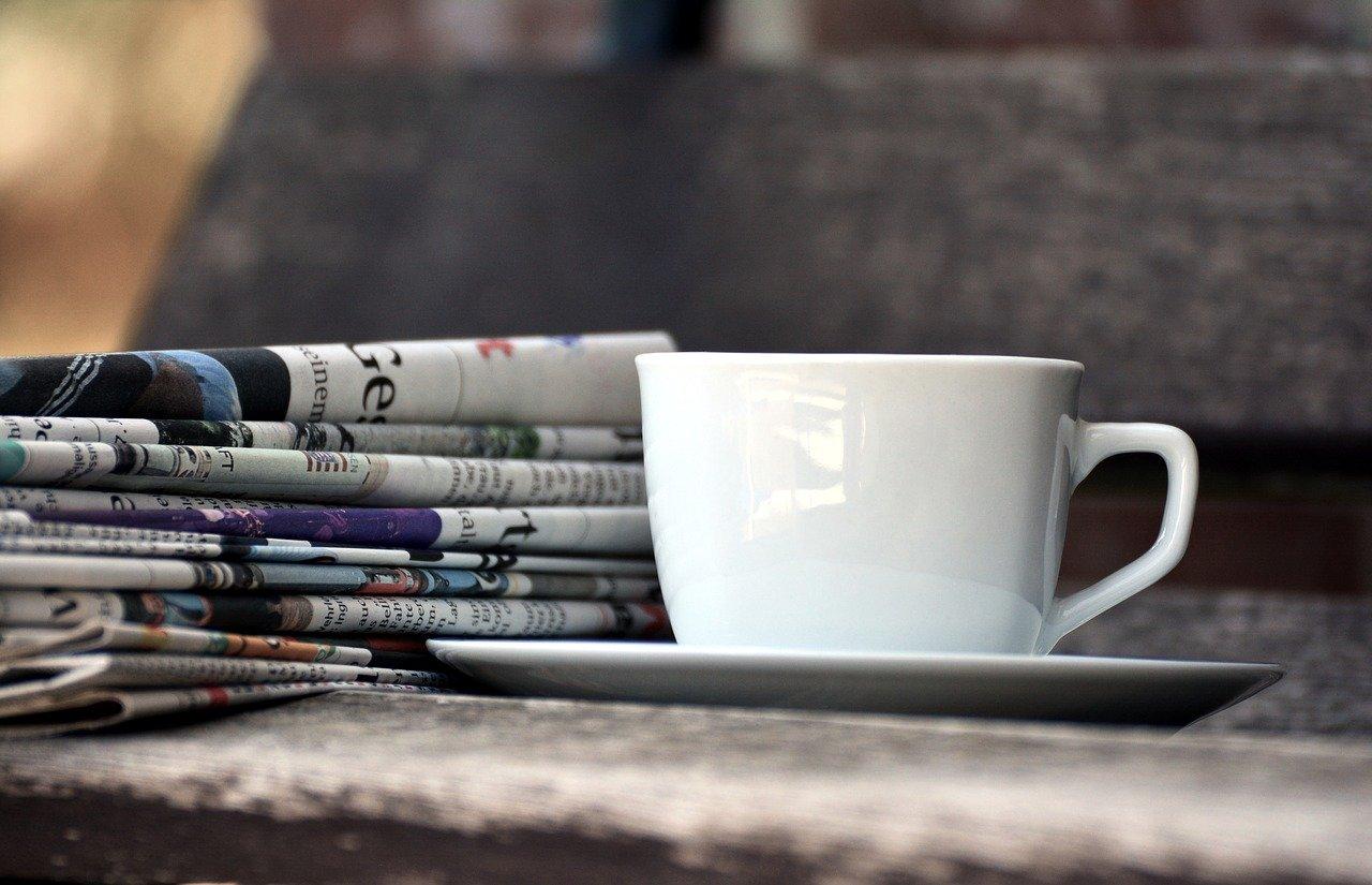 I giornali di oggi / Foto di congerdesign da Pixabay