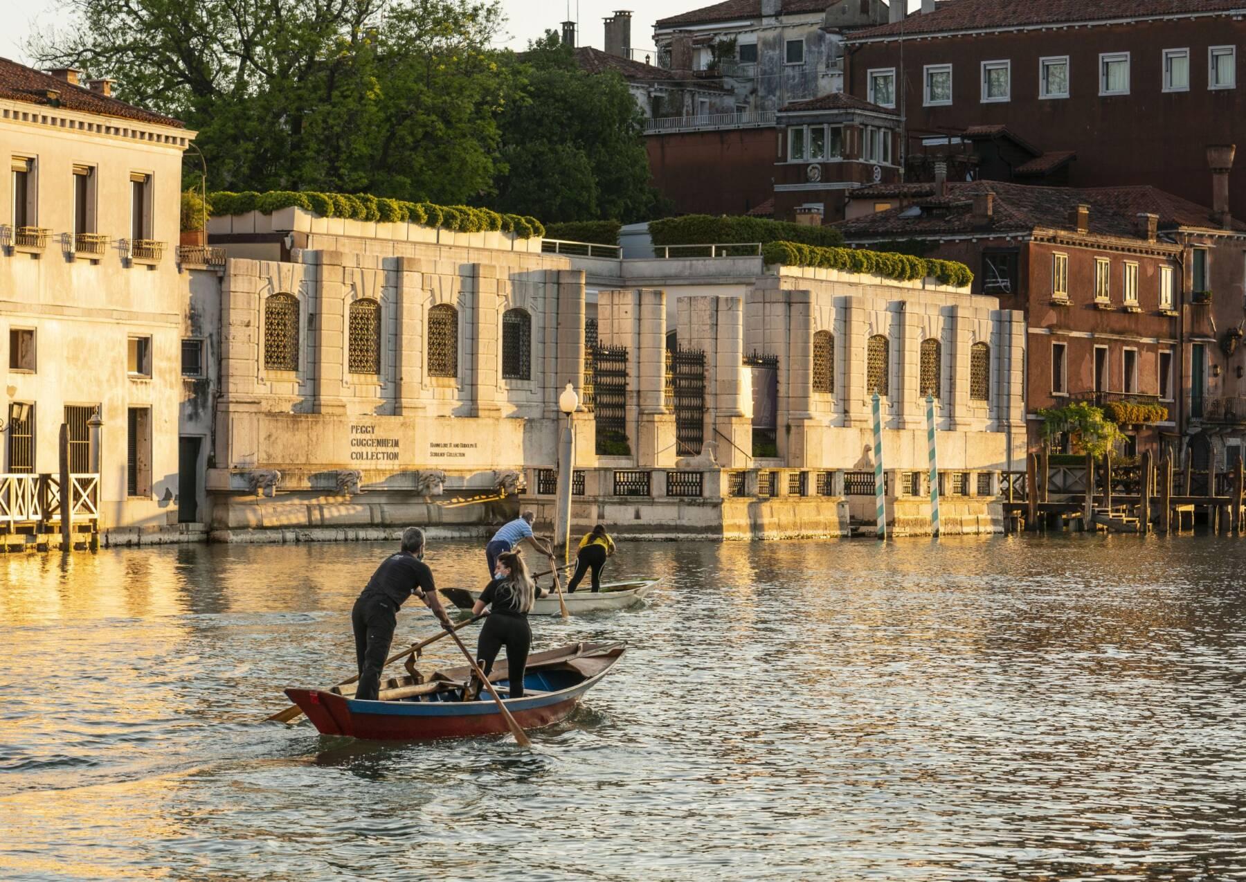 Peggy Guggenheim Collection dal Canal Grande a Venezia Photo di Matteo DeFina