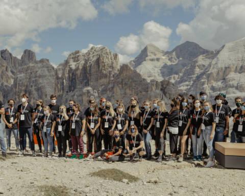 Il Team di TEDxCortina, edizione 2020
