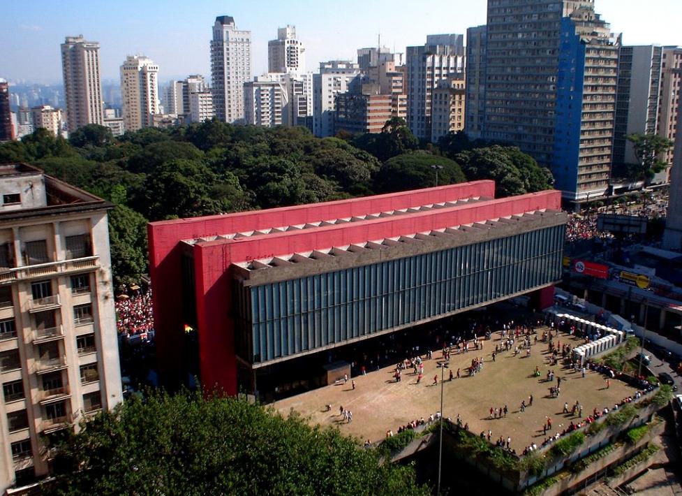Lina Bo Bardi Museo di San Paolo