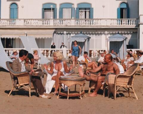 Ferragosto origini star del cinema in vacanza
